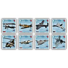 100 Years of the Royal Air Force Stamp Set CTO