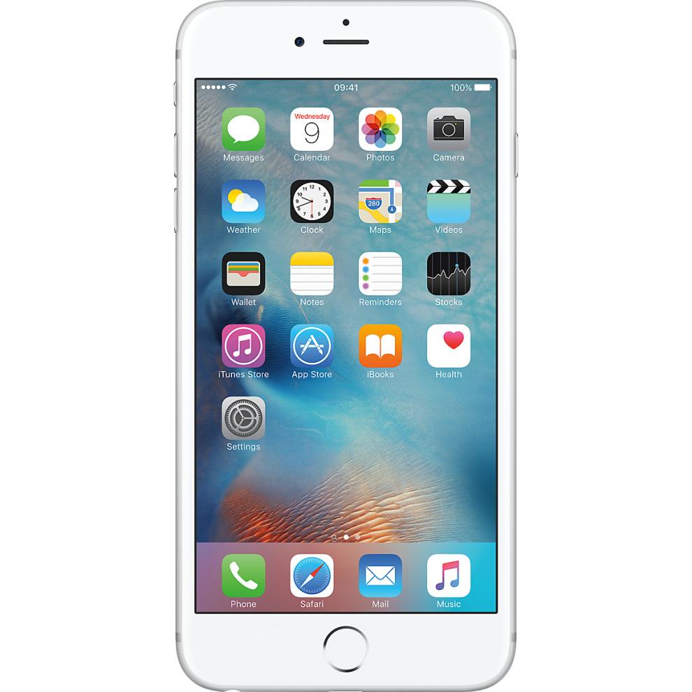 Three, 64GB Apple iPhone 6s Plus Silver