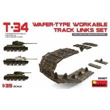 Min35207 - Miniart 1:35 - T-34 Wafer Type Workable Track Links Set