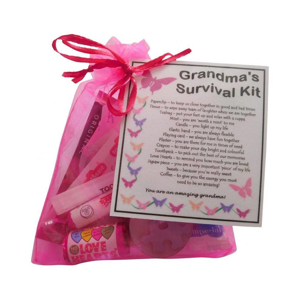 Grandmas Survival Kit Gift