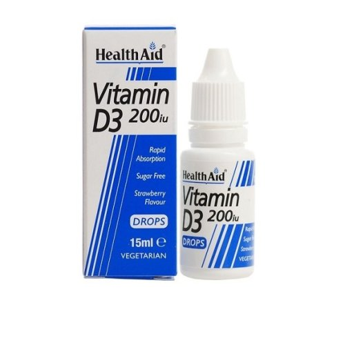 HealthAid Vitamin D3 200iu 15ml Drops
