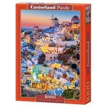 Csc103522 - Castorland Jigsaw 1000 Pc - Santorini Lights