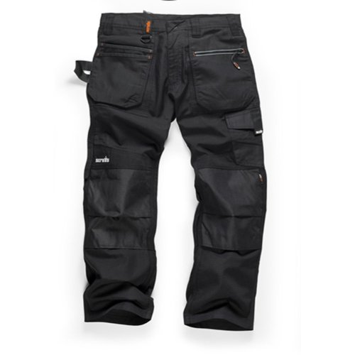 Scruffs Ripstop Trade Work Trousers - Black
