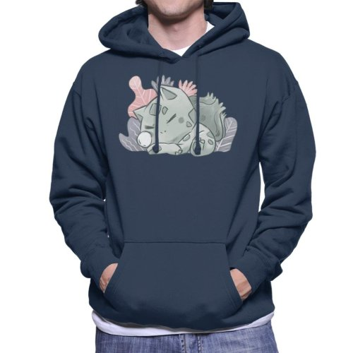 Pokemon Sleeping Bulbasaur Men's Hooded Sweatshirt