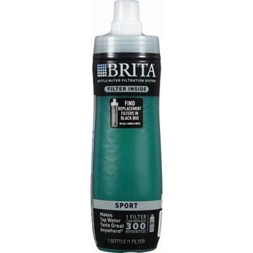 Brita Bottle Water Filtration System, Green