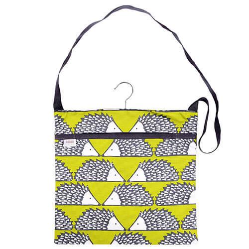 Scion Living Spike The Hedgehog Green Peg Bag 100% Cotton 30x30x2 cm