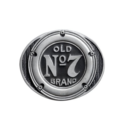Jack Daniels 'Gas Cap' Old No 7 Belt Buckle