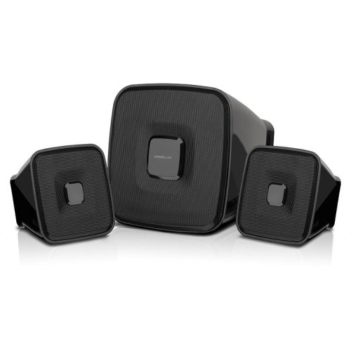 SPEEDLINK QUAINT 2.1 2.1channels 7W Black speaker set