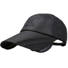 Fashion Baseball Caps Extensible Baseball Hats Sun Hats Black