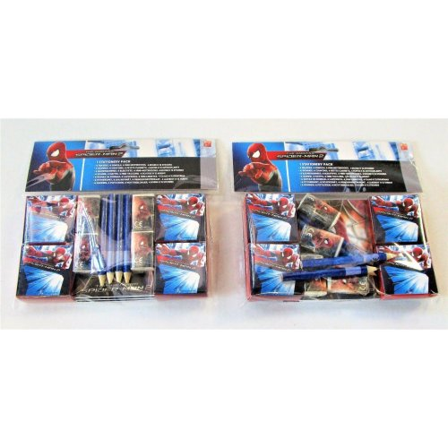 The Amazing Spiderman 2 Stationery Pack for 8 people - Marvel Party Favours