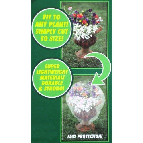 5 x 1m Delicate Plant Fleece Protection Blanket Cover Soft Fruit Jacket Permeable