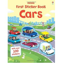 First Sticker Book Cars (First Sticker Books)