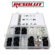RESOLUT Volkswagen Assorted Trim Clips 255 Pieces 9033