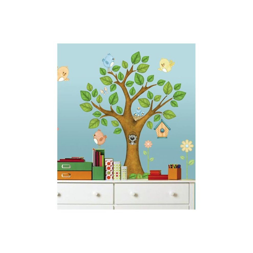 Borders Unlimited 10016 On The Tree Top Super Jumbo Applique On Onbuy