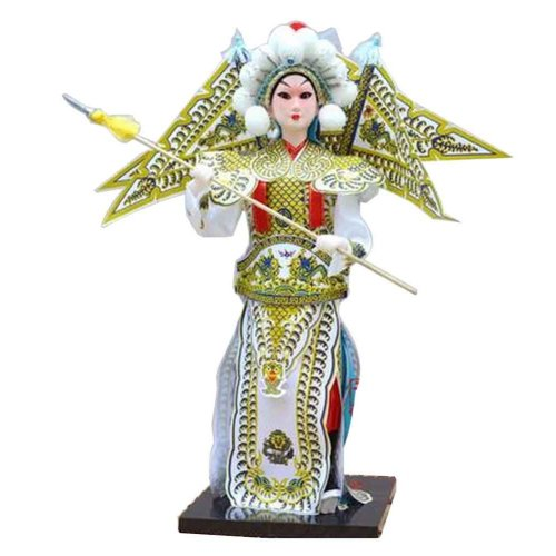 Traditional Chinese Doll Peking Opera Performer - Zhao Yun