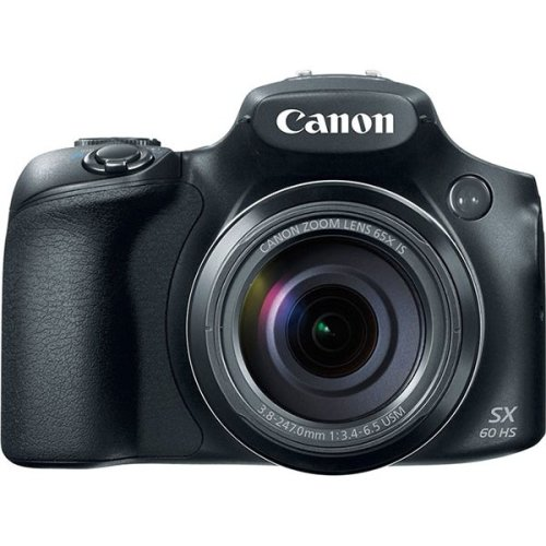 Canon PowerShot SX60 HS Camera - Black | Digital Bridge Camera