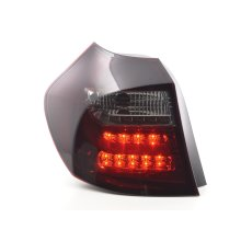 Led Taillights BMW serie 1 E87/E81 3/5-Dr. Year 04-07 red/black