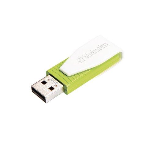 Verbatim Store 'n' Go Swivel 32GB USB 2.0 USB Type-A connector Green USB flash drive