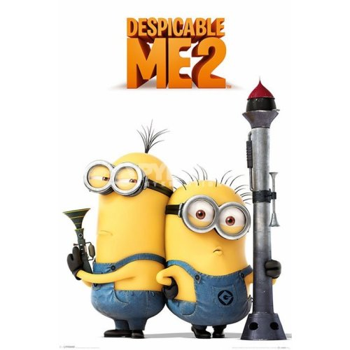 91.5 x 61cm Despicable Me 2 Armed Minions 2013 Maxi Poster - 61cm 91.5cm - Despicable Me 2 Armed Minions 2013 Poster 61cmx 91.5cm Maxi Poster
