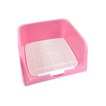"Pet Supplies & Indoor  Pet Potty Dog Fence Toilet (16.5""*16""*6""),PINK"