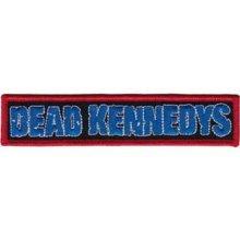 Application Dead Kennedys Blue Logo Patch