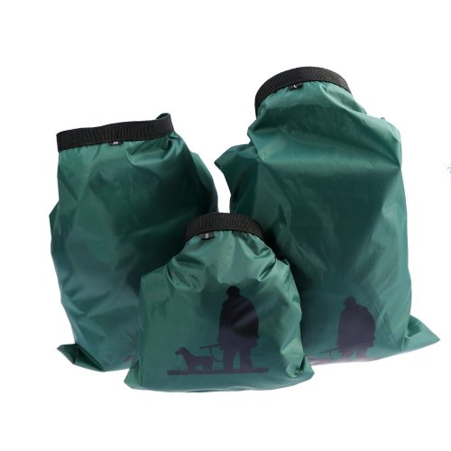 ULTNICE 3pcs 1.5L+2.5L+3.5L Waterproof Dry Bag for Camping Boating Kayaking Rafting Fishing (Army Green)