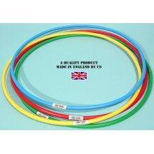 "Witzigs Games Hula Hoops - Bundle of 4 x 750mm (30"") Ref: 03246"