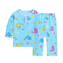 Dolphin Little Boys Cotton Short Pajamas Summer Kids Clothes Toddler