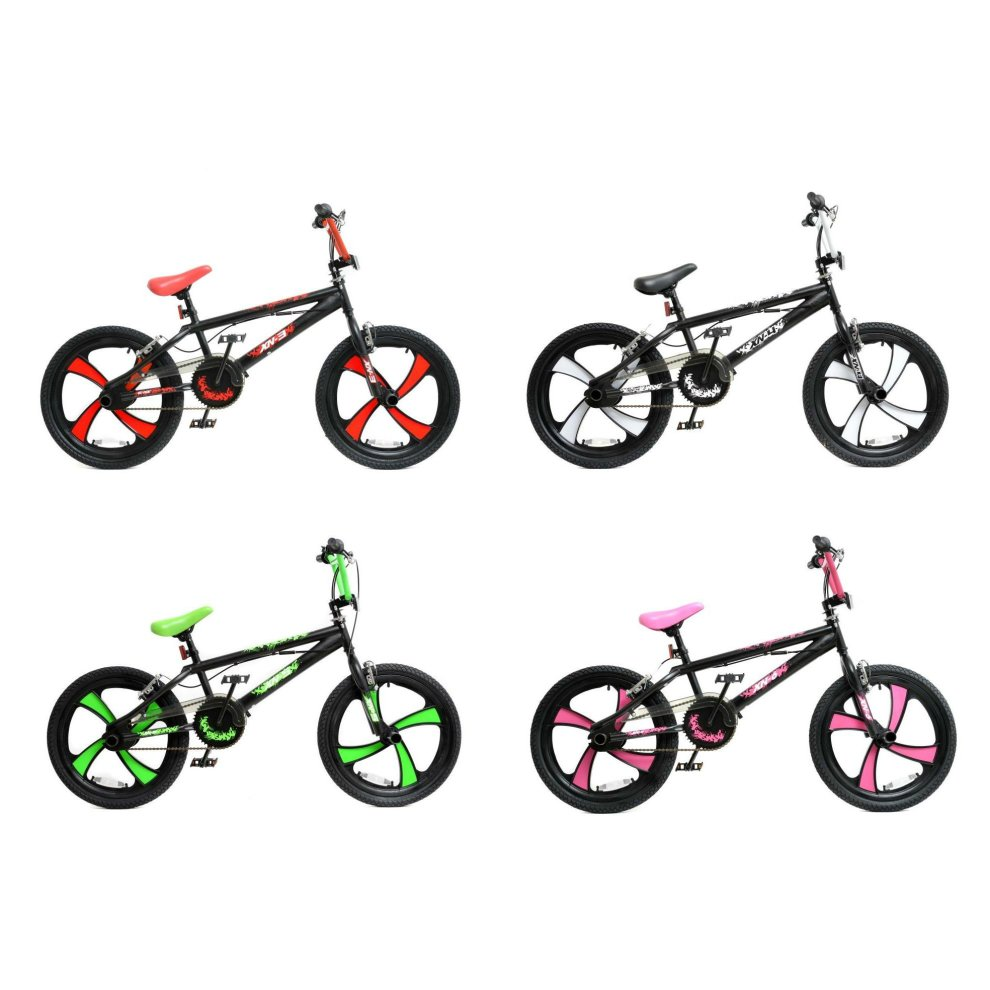 xn bmx freestyle 20 u0026quot  mag wheel kids bike 4 colours on onbuy