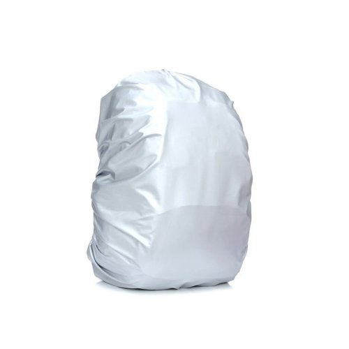 Set of 2 Silver Camping/Hiking Water-proof Backpack Rain Cover,45-50L