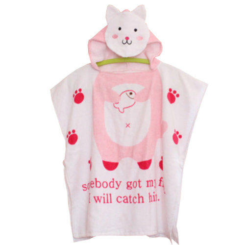 Cute Baby Towel/ Bath Towel/Baby-Washcloths/BABY bathrobe,Lovely Cat