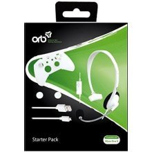 ORB Accessories Starter Pack White for Xbox One S