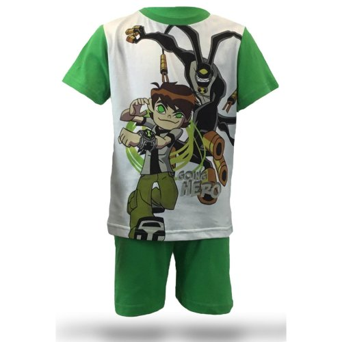 Ben 10 Short Pyjamas - Green
