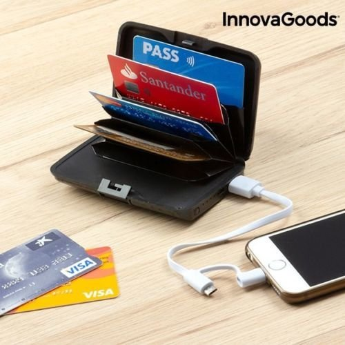 Credit Card Holder Power Bank Iphone Small Thin Design Charge  Adapter