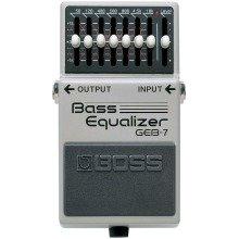Boss GEB-7 Bass Equaliser Bass Guitar Compact Effects Pedal
