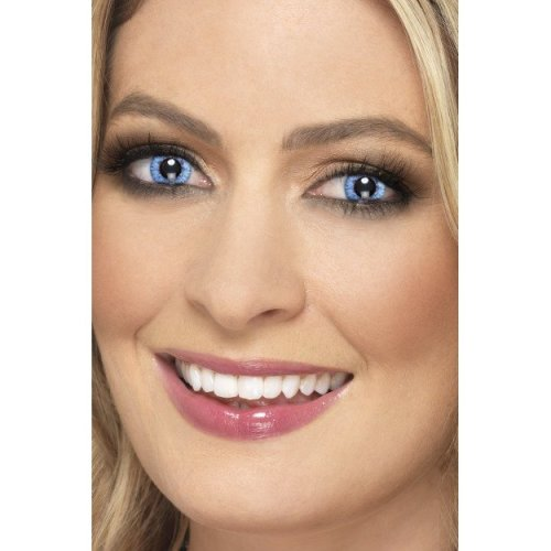Accessoreyes Natural Colour, Blue, 1 Day Wear - Colour Blue Ac New -  natural colour blue 1 day wear ac new