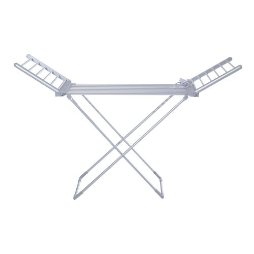 Homcom Heated Folding Clothes Airer   Freestanding Electric Clothes Drier