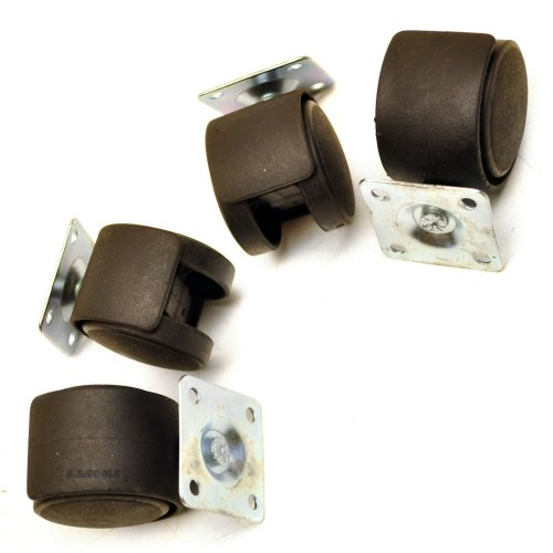 Twin Wheel Castor Caster for Office Computer Chairs Tables Sil179