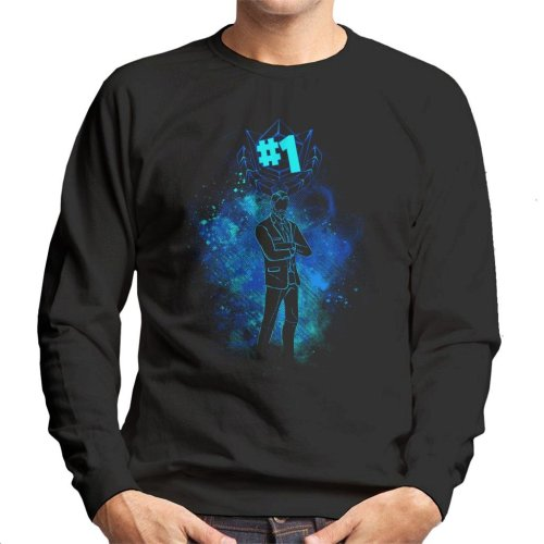 Fortnite The Reaper Silhouette Men's Sweatshirt