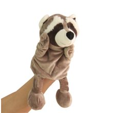 Raccoon, Fancy Toy Cute Hand Puppets For Kids