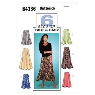 Misses'/Misses' Petite Skirt-14-16-18 -*SEWING PATTERN*