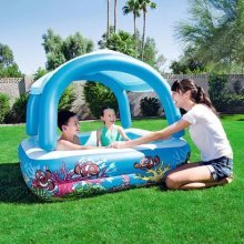 Bestway Blue Canopy Play Pool 52192 | Shaded Kids' Pool