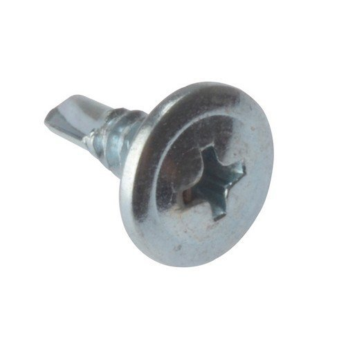 Forge DWSWHSD13 Drywall Screw Wafer Head Self-Drill TFT ZP 4.2 x 13mm Bulk 1000