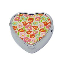 Pill Box For Pocket or Purse/ Multifunction Small Jewel Box Case  K
