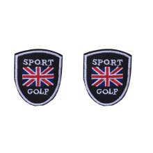 Set of 2 Creative UK Sport Patches Embroidery Applique Badge Armband 1.7*2.0""