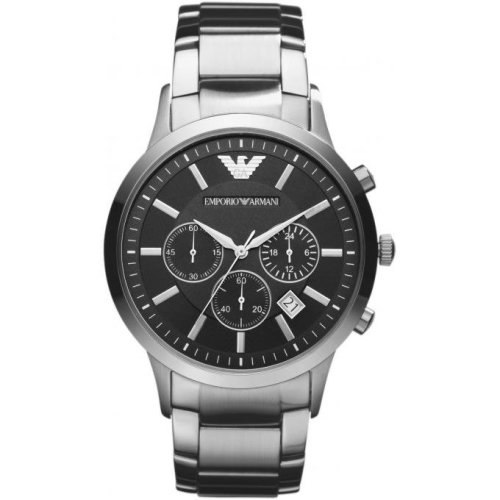 Emporio Armani AR2434 Watch Silver Steel Man