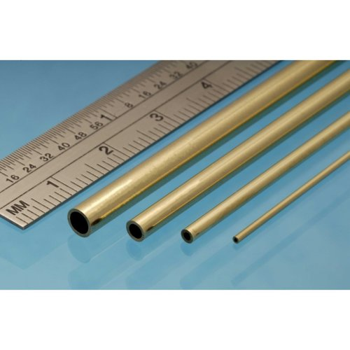 Brass Tube 5mm x 305mm - Pack of 3