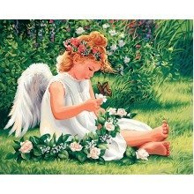 Dpw91312 - Paintsworks Paint by Numbers - Darling Angel