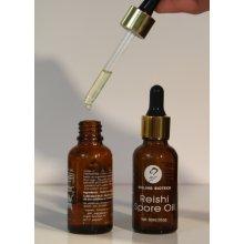 100% pure Organic Red Reishi (Ganoderma Lucidum)spore oil Over 26.8% triterpenes