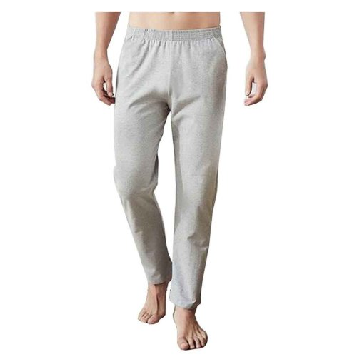 Cotton Men's Sweatpants Men's Pajamas Men's Sweats for Spring Autumn [C]